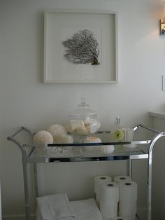 Sea Fan Bathroom Cart Storage Vanity Design Colors