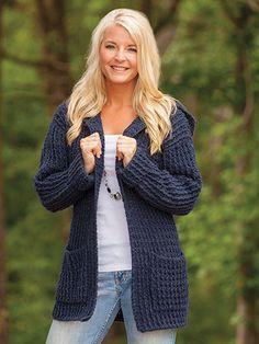 Picture of Crochet Hoodie Cardigan
