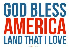 God Bless America | Drag to your desktop and print to insert into your Project Life albums or to your scrapbook layouts.