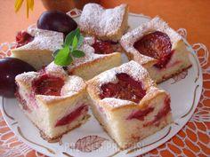 Jogurtowe ciasto ze śliwkami Cheesecake, Cakes, Food, Scan Bran Cake, Cheese Cakes, Kuchen, Pastries, Cheesecakes, Cookies