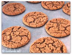 Jam Hands: Soft and Chewy Ginger Cookies