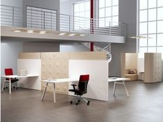 Office workstation for open space TRÈS | Office workstation for open space - MASCAGNI