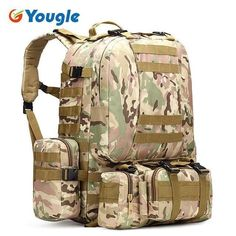 50L Military MOLLE Design Backpack