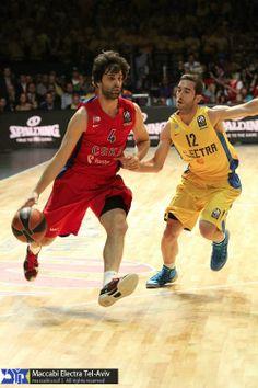 "Milos Teodosic, basketball player of CSKA Moscow Basket, was wearing Nike Kobe 8 ""Milk Shake"" during the match against Maccabi Tel Aviv. 16.5.2014"