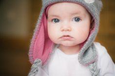 Violet, babies, photography, pink, hat, cheeks, blue eyes, minneapolis  Minneapolis baby, children, lifestyle photographer