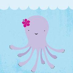 Millie in the ocean.