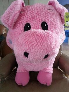 Come on You Know You Want It!  Who doesn't need a Pink Plush Pig???  GIANT - Jumbo - Adult Pig Size  PLUSHIE PINK PIGGIE ~ Oink Oink!!!  Brand New with Tag