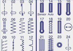 Comprendre tous les points de votre machine à coudre | astuce | Blog de Petit Citron