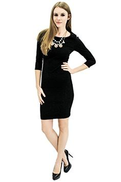 Naomi Bodycon Black Small Dress -- Want additional info? Click on the image.