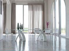 Tavola adatto alle persone particolari, uniche ed originali... Perchè si rispecchiano con Big Eliseo http://www.idfdesign.it/tavoli-pranzo-piano-in-vetro/big-eliseo.htm ( Table suitable for people with special, unique and original ... Why reflect with Big Elisha ) http://www.idfdesign.com/dining-tables-glass-top/big-eliseo.htm [ #design #designfurniture #ToninCasa #Tonin #tavolo #table ]