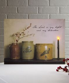 Ohio Wholesale, Inc. The Lord Lighted Wrapped Canvas | zulily