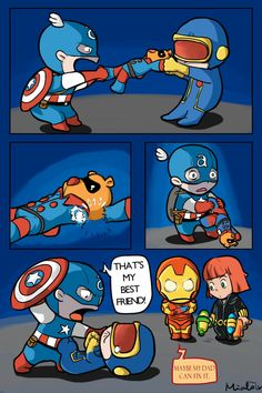Broken Arm Bucky Bear by mialozondo << Maybe my dad can fix it! Can't stop laughing.<< Is he going to get a metal prosthetic? Marvel Jokes, Marvel Funny, Marvel Dc Comics, Marvel Heroes, Marvel Avengers, Stony Avengers, Avengers Cast, Baby Marvel, Baby Avengers