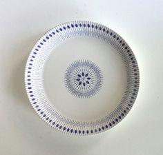 Norwegian Egersund Zenit plate Scandinavian