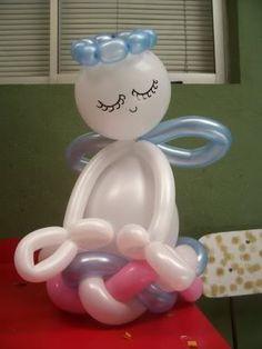 Mostremos decoraciones con globos para fiestas