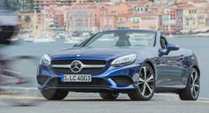 Over two decades, the Mercedes-Benz SLK has built a small, solid fan-base in Australia, and now it is up to the newly refreshed and renamed 2016 Mercedes-Benz SLC Roadster to carry on that tradition. Mercedes Benz 190, Mercedes Benz Models, 2016 Cars, Daimler Benz, Benz S, Slc, Luxury Cars, Awesome, Image