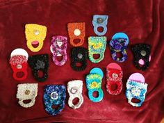 More Crochet Towel Holders