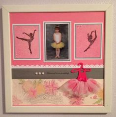 This is a scrapbook project that I did to display at a fundraiser for a local dance studio. I hope they LOVE the tutu!! Paper and stamps from Close to my Heart and the tutu Creative Memories This and That CRICUT cartridge..my beautiful subject..my granddaughter Zoe!!