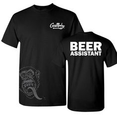 Gas Monkey Garage Beer Assistant Tee (not a brewery, but very fitting)