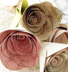 shabby chic crafts to make | Shabby Chic Flowers | AllFreeHolidayCrafts.com