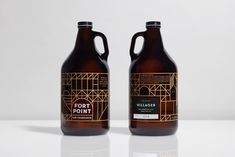 Fort Point Beer Company — The Dieline - Branding & Packaging