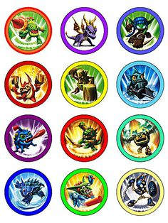 Skylanders Free Printables!! | Life in a Larger Story