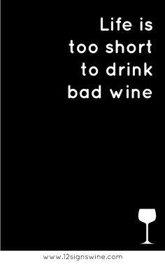 Wine Quotes - ein wirklich sehr passendes Zitat zum Wein :)