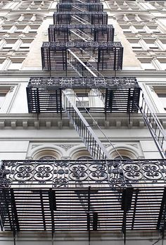 Fire Escape Stairs, Canal Street, New York City | by Noel Y.C. - NYC♥NYC