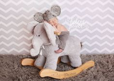 Baby Elephant Hat Made to Order