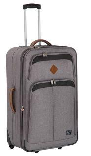 Elegant New Adventure Denim Range Blue Grey, Black And Grey, Denim Fabric, New Adventures, Lady, Suitcase, Corner, Handle, Cases