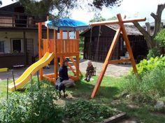 dřevěné hřiště na zahradu - Google Search