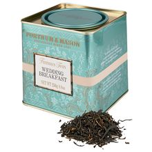 Wedding breakfast - Fortnum & Mason >>> Top-quality Assam lifted by the addition of a little Kenyan tea. --- Strong and robust w/ brightness