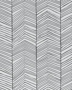 ferm-living-behang-herringbone-zwart-wit-10x053cm