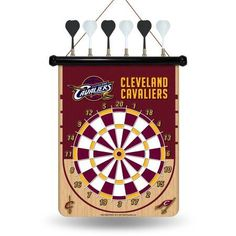 Rico NBA Magnetic Dart Set, Cleveland Cavaliers, Multicolor