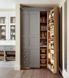 25 Sumptuous Kitchen Pantries – Old, New, Large, Small and Gorgeous!