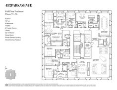 The new crop of superluxury megatowers in Midtown has produced some pretty incredible floorplans, not least of which are the penthouse units...