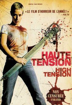 """""""Haute tension"""",  slasher film by Alexandre Aja (France, 2003)"""