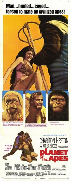 I hope the fact that Planet of the Apes is a post-apoc film wasn't a spoiler for you. It has a new fresh take on the genre and is well worth seeing. The original that is. The re-make is skippable.