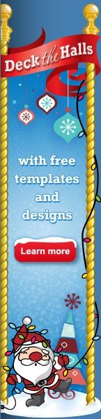 Free Holiday Avery Templates (return address labels)