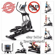 Elliptical Exercise Cross Indoor Fitness Trainer Workout Machine Gym Equipment #SD4U