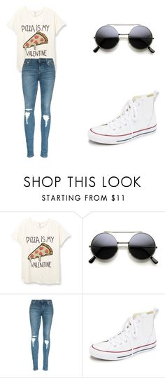 my valentines day outfit by brooke-carpenter-1 on Polyvore featuring Converse, women's clothing, women's fashion, women, female, woman, misses and juniors