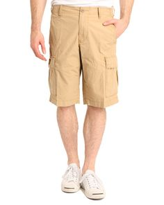 DENIM & SUPPLY RALPH LAUREN, Cruisade Beige Cargo Board Shorts