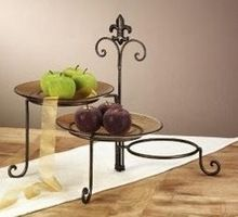 black iron 3 tiered Dessert Tray | Tier Iron Metal Cupcake Stand Cupcake Display Stand Party Supplies ...