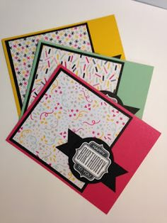 Tag Talk, Stamp a Stack, Birthday Card, Stampin' Up!, Rubber Stamping, Handmade Cards