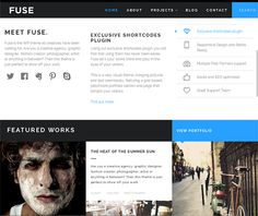 This flat WordPress theme features a responsive layout, SEO-friendly code, 600+ Google Fonts, a homepage slider with parallax animated content, social media widgets, a custom shortcodes plugin, and more.
