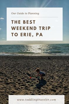 Planning a trip to Erie, PA? Read for the best place to stay, where to eat and fun things to do with kids in Erie (or without!) Highlights include Sara's Restaurant, Waldameer Amusement Park, Scallywag's Pirate Adventure and the Erie Zoo. Best Weekend Trips, Weekend Getaways, Family Road Trips, Road Trip Usa, Adventurous Things To Do, Fun Things, Presque Isle Beaches, Travel With Kids, Family Travel
