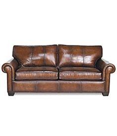 leather sofa love