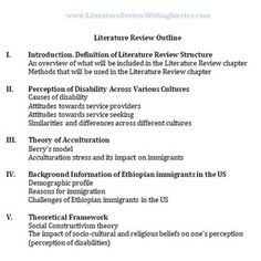 Sample Literature Review Outline SP ZOZ   ukowo