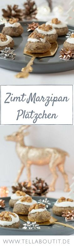 Zimt Marzipan Plätzchen