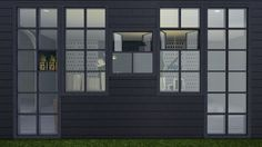 Sims 4 CC's - The Best: Basic Square Window by minc's sims4