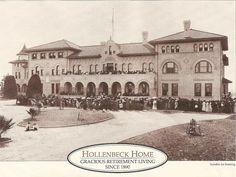 Lost LA - Hollenbeck Home for the Aged in Boyle Heights on Sept. 6, 1896 - Razed in 1985.